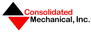 Logo, Consolidated Mechanical, Inc. - Steel Fabrication